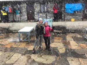Snowing Nepal
