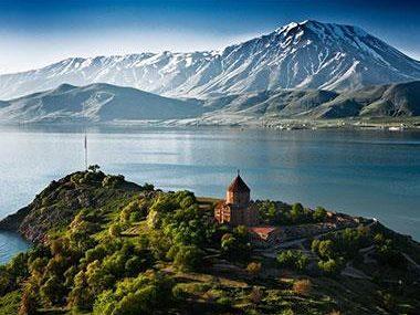 Lake Sevan and Sevanavank