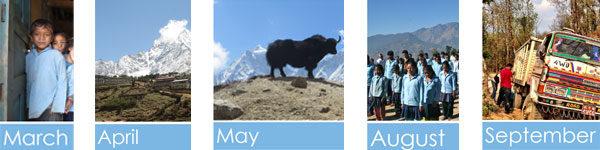2014 Nepal school calendar
